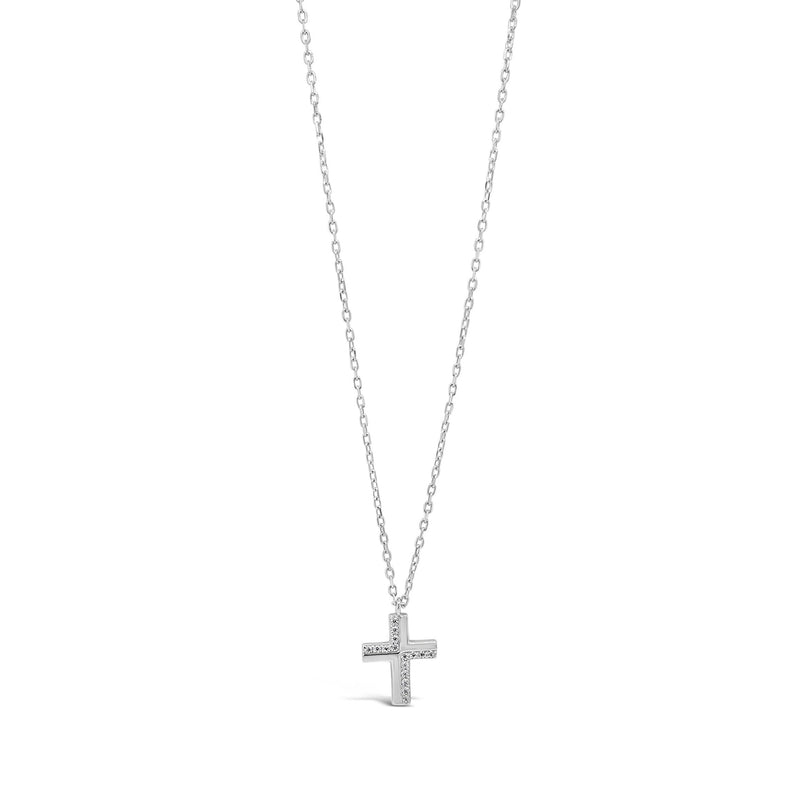 ABSOLUTE KIDS SILVER CROSS PENDANT CONFIRMATION COMMUNION