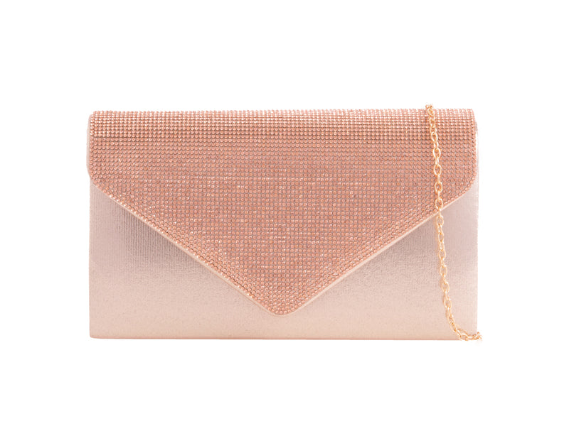 THE PERFECT SATIN CLUTCH BAG EB2646