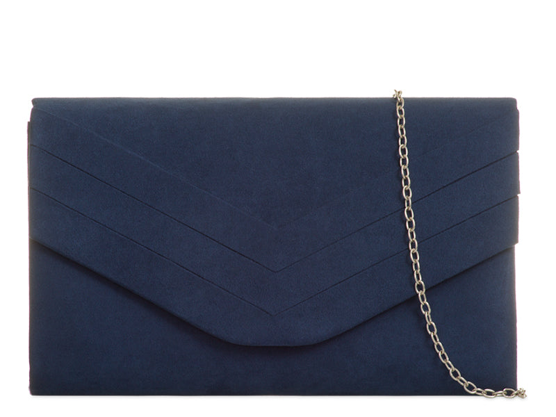 THE PERFECT SUEDETTE  CLUTCH BAG