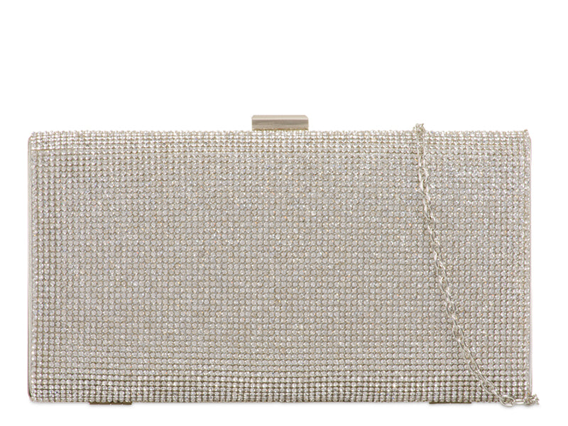 CRYSTAL HARD COMPACT EVENING CLUTCH BAG EB642