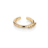 NEWBRIDGE EAR CUFF PLAIN GOLD ER2802