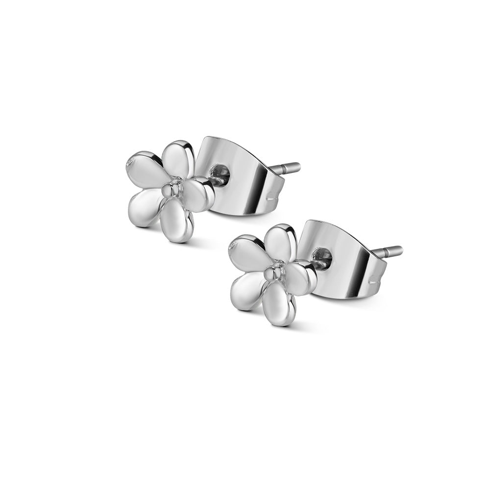 NEWBRIDGE CHILDRENS CLEAR STONE FLOWER EARRING ER1107