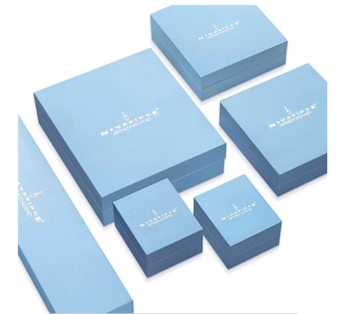 newbridge, blue box, logo