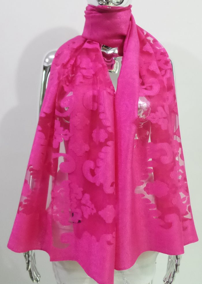 OUR BEST SELLING LACE WRAP VISCOSE-COTTON-SILK