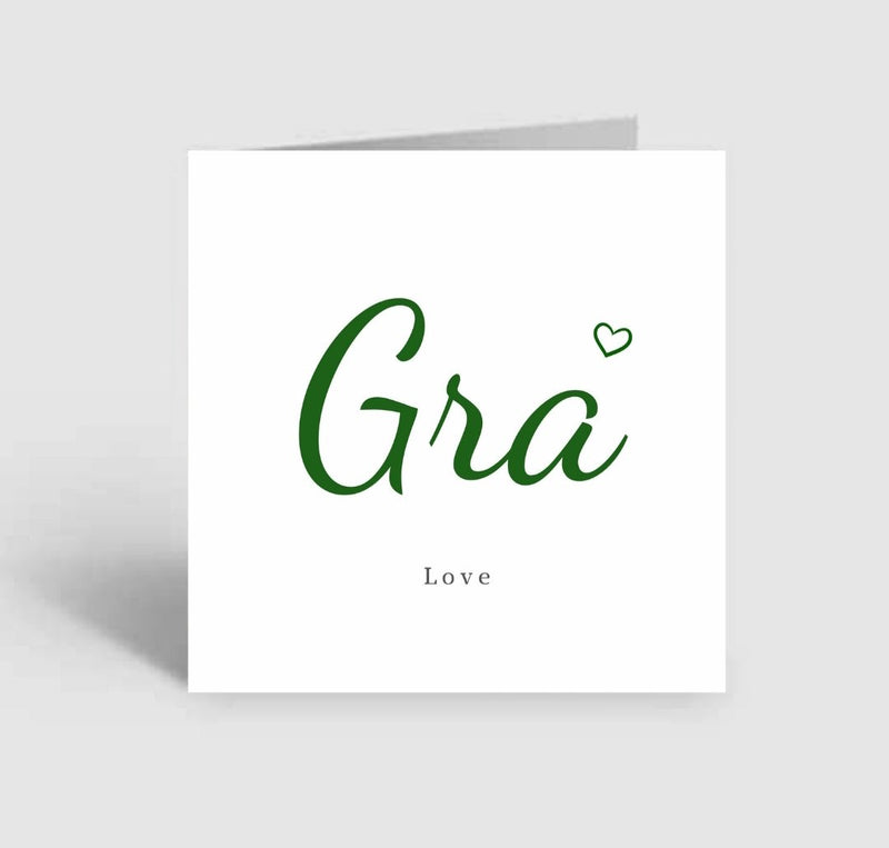 GRA LOVE BLANK CARD