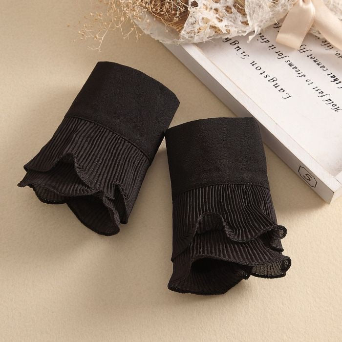 FRILLY COTTON SHIRT CUFFS