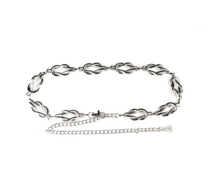 CHAIN MINI KNOT LINK ADJUSTABLE BELT