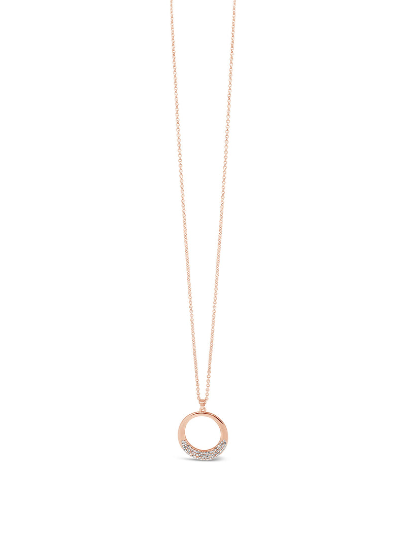 ABSOLUTE ROSE SIMPLE CIRCLE PENDANT