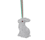 newbridge silverware rabbit hanging christmas decoration crystal gift 2020