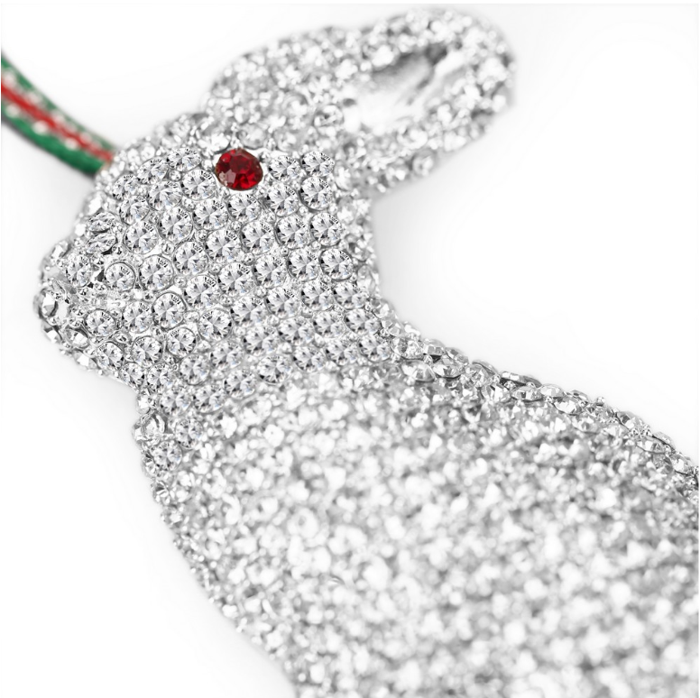 NEWBRIDGE SILVERWARE RABBIT HANGING DECORATION LS812