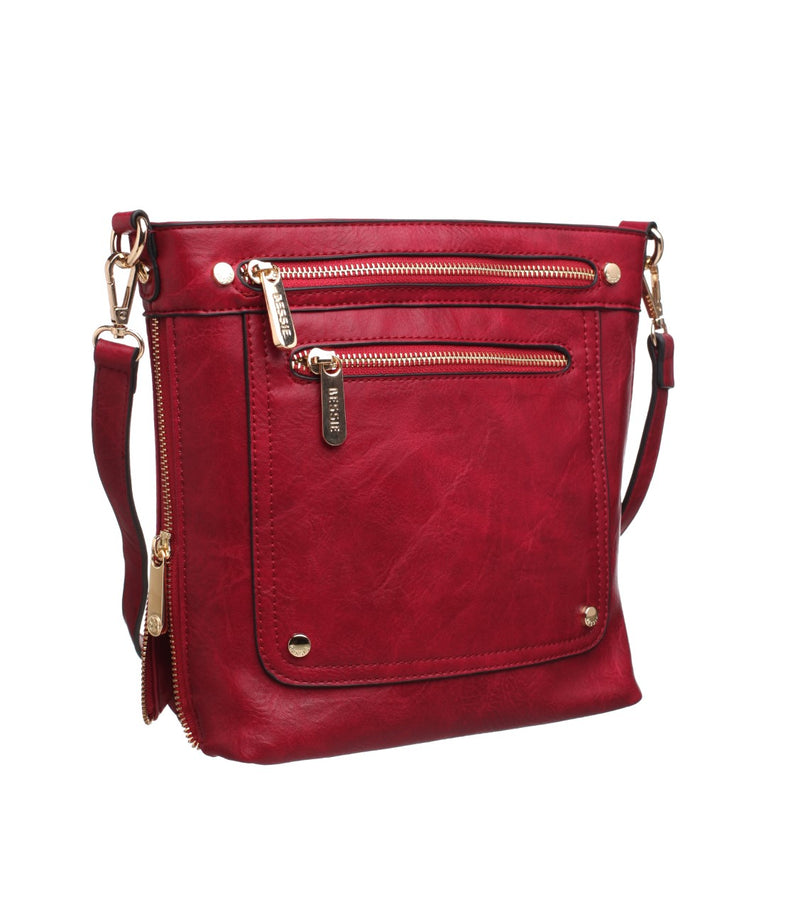 BESSIE CROSSBODY BAG-RED