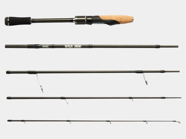 "WILD SIDE 6'3"" Spinning Rod (5 piece) by LEGIT DESIGN"