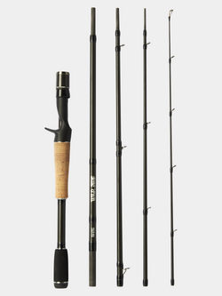 "WILD SIDE 6'11"" Medium Heavy Casting Rod (5 Piece)"