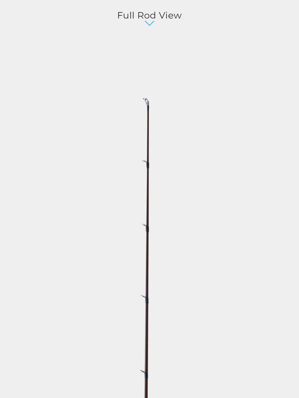 "WILD SIDE 6'6"" Pure Glass Fiber Medium Light Casting Rod"