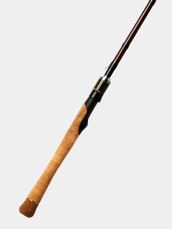 "WILD SIDE 6'2"" Pure Glass Fiber Light Spinning Rod"