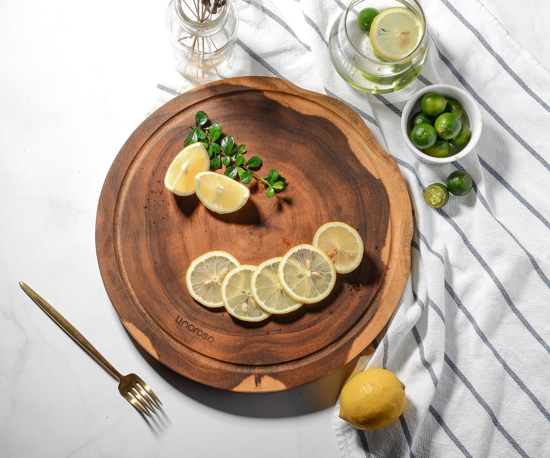 Cutting board - Acacia - 12*12*1inch - Round