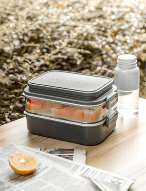 Linoroso Dual Lucn Box - Cool Gray