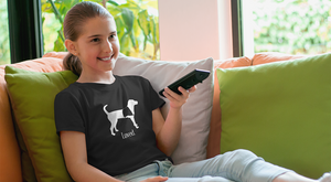 Service Dog Girl T-shirt