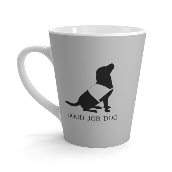"Dog Mug ""Good Job Dog"" Perfect for Everyday! 12oz Black Lab"