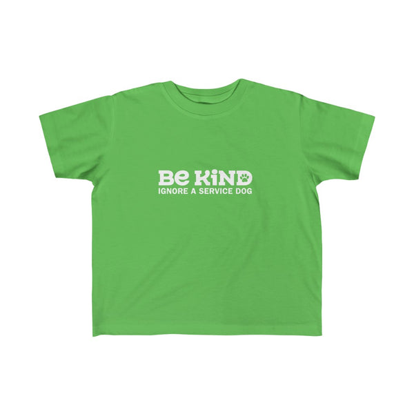 Dog Shirts Be Kind Kids Green