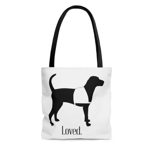 Dog Bag Tote Bag