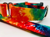 Service Dog Collar Rainbow Pride