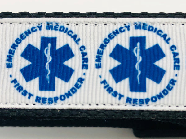 Dog Collar Flat/Martingale Deluxe & Opt Bringsel Emergency Medical Care First Responder