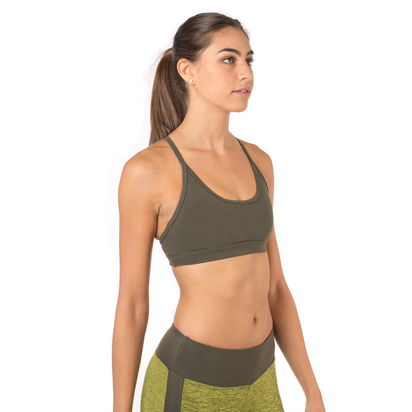 Core Sister Sports Bra - Army