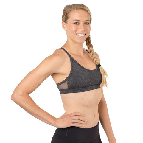 Core Sister Sports Bra - Dark Gray