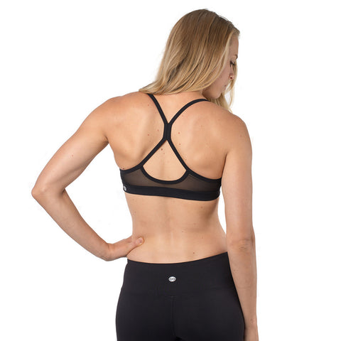 Core Sister Sports Bra - Black