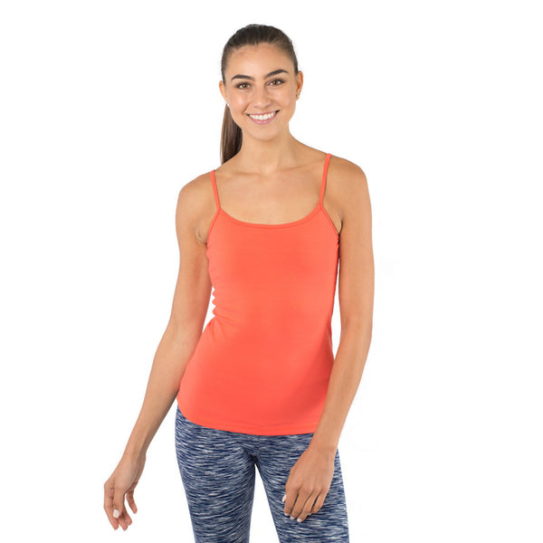 running yoga workout tank top with built in bra womens