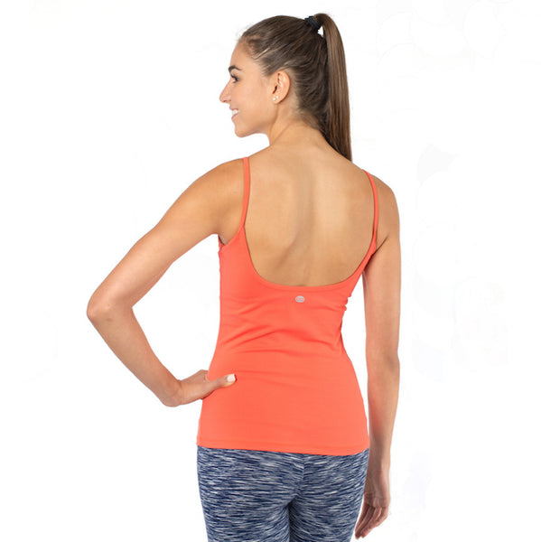 yoga tank with built in bra