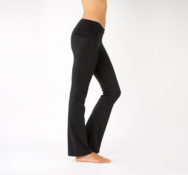 fold over yoga pants for women