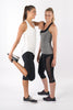 running capri pants with mesh, Fabb Activewear