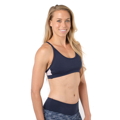 Core Sister Sports Bra - Navy