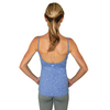 Women's Workout Tank Top with Built-In Bra. Ballet Bombshell Tank. FABB ACTIVEWEAR