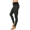 Better Basic Pilates Legging - Heathered Charcoal & Black- FABB Activewear