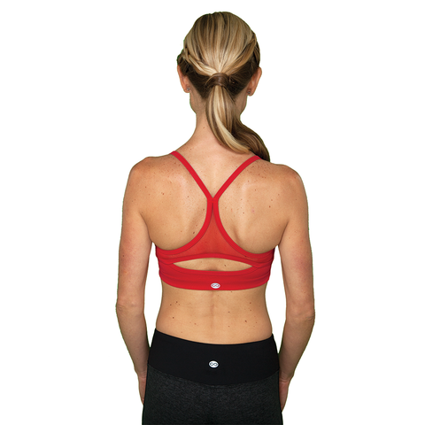 Little Minx Red Sports Bra