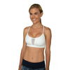 Little Minx Sports Bra - White - FABB Activewear