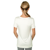 Zen Baby T-Shirt - FABB Activewear - Flowy Workout Top for Women - White