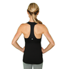 Match Point Tank - Black - FABB Activewear