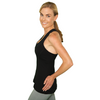 Match Point Tank - Black- FABB Activewear