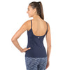 workout tank top with built-in bra