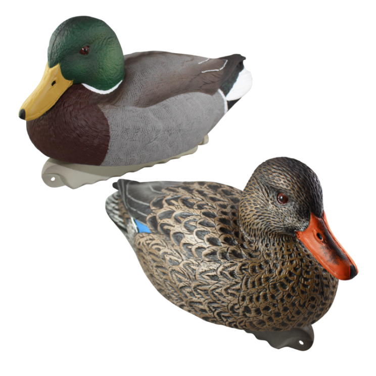 Cupped Waterfowl Finishing Mallards, 12pk