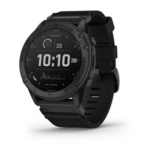 Garmin tactix® Delta - Solar Edition Solar-powered Tactical GPS Watch with Nylon Band