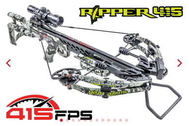 Killer Instinct Ripper 415 Crossbow Package