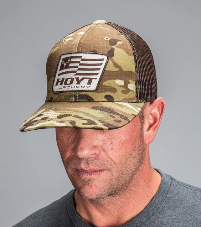 Hoyt Alpha Hoyt Camo Hat (Richardson 862)