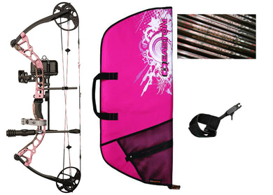 Diamond Infinite Edge Pro Pkg. - Pink 13-31in. 70lb LH