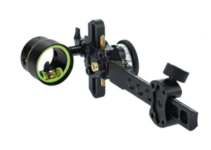 "HHA Tetra Max Tournament 5510 LH Sight w/.010 1-Pin 1 5/8"" Scope"