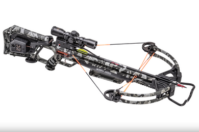 Wicked Ridge Rampage 360 Crossbow Package with Acudraw Peak Camo